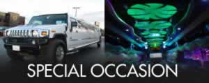 SUV navigator limo bus for a 20 passenger group
